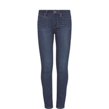 Hoxton Crop Roll Up Jeans