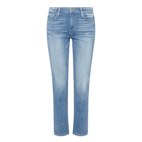 Jimmy Jimmy High-Rise Cropped Jeans, ${color}