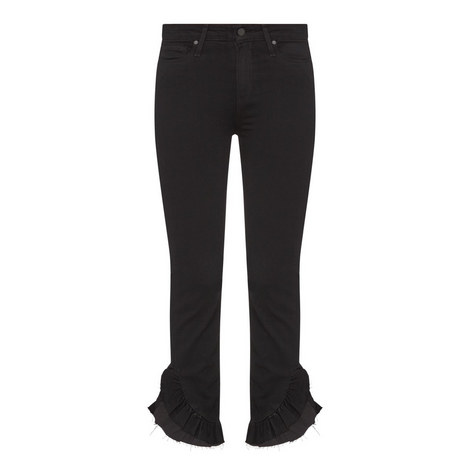 Hoxton Frilled Ankle Jeans, ${color}