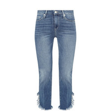 Hoxton Frayed Ankle Jeans