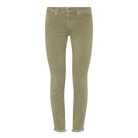 Hoxton Raw Hem Jeans, ${color}