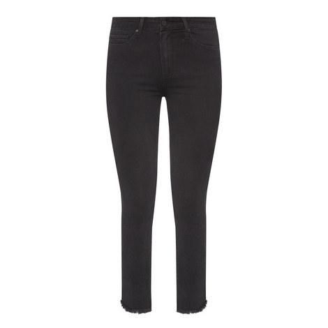 Margot Draco Frayed Hem Jeans , ${color}