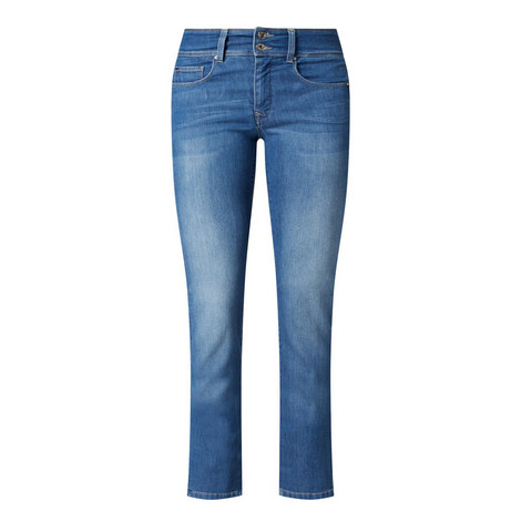 Secret Slim Straight Fit Jeans, ${color}