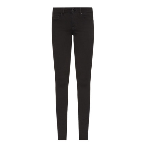 Secret High Rise Skinny Jeans, ${color}
