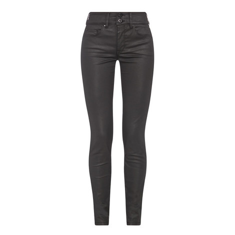 Secret Push-In Coated Jeans, ${color}