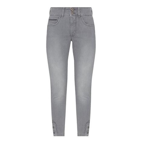 Secret Push-In Capri Jeans, ${color}
