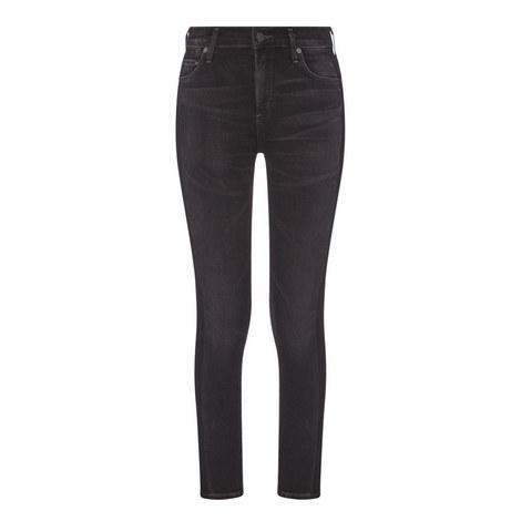 Rocket Crop High-Rise Skinny Jeans, ${color}