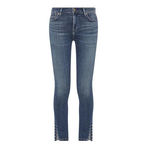 Rocket High-Rise Skinny Jeans, ${color}
