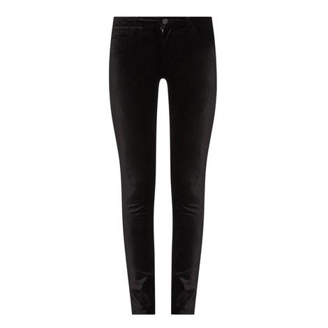 Verdugo Velvet Skinny Jeans, ${color}