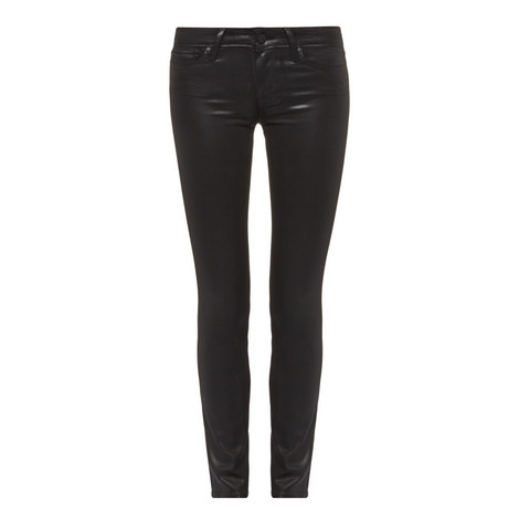 Verdugo Skinny Coated Jeans, ${color}