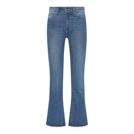 Collette Raw Edge Cropped Jeans, ${color}