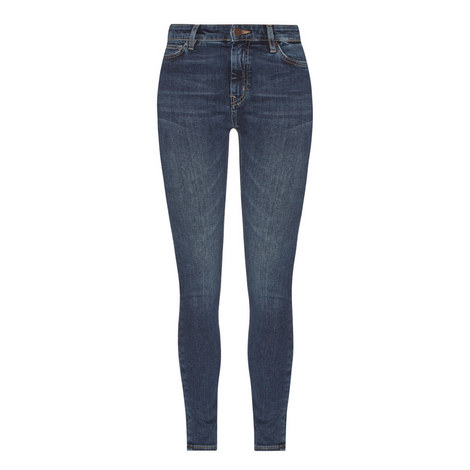 Bridge High Rise Skinny Jeans, ${color}