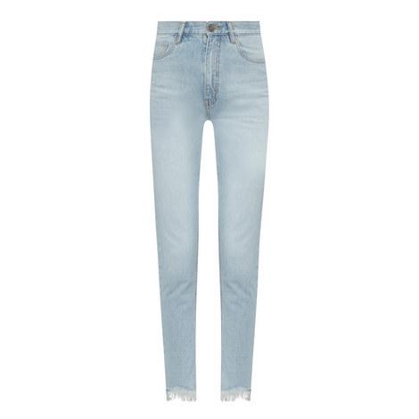 Mimi Ripped Hem Jeans, ${color}