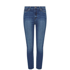 Margot Cropped Raw Hem Jeans