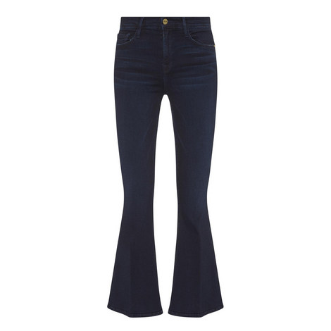 Le Crop Bell Flare Jeans, ${color}