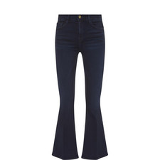 Le Crop Bell Flare Jeans