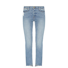 Le High Straight Fit Jeans