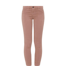 Anja Cropped Sateen Jeans