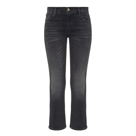 Selena Cropped Bootcut Jeans, ${color}