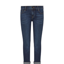 Sadey Cropped Straight Fit Jeans