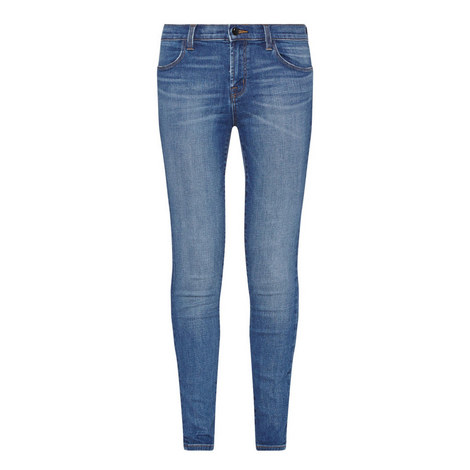 Maria High-Rise Skinny Jeans, ${color}