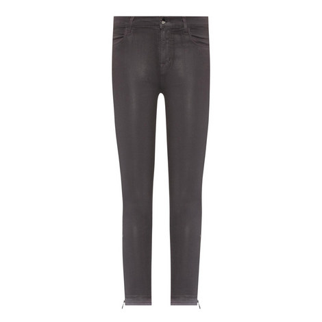 Alana Coated Cropped Jeans, ${color}