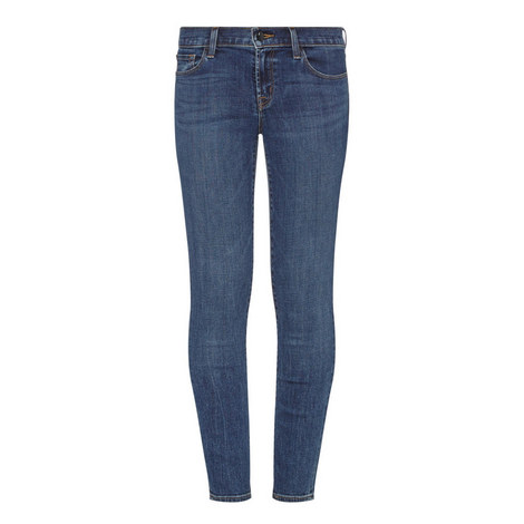 811 Mid-Rise Skinny Jeans, ${color}