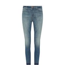 Alana Raw Hem Cropped Jeans