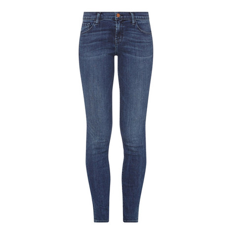 Maude Cigarette Skinny Fit Jeans, ${color}