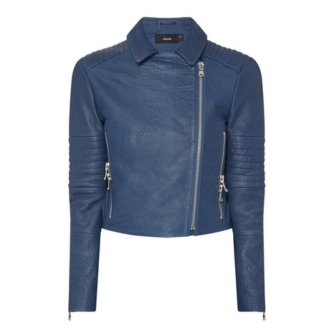 Aiah Leather Jacket, ${color}
