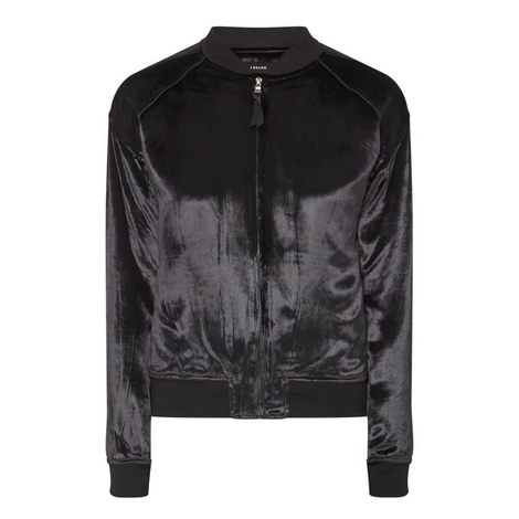 Pace Velvet Bomber Jacket, ${color}