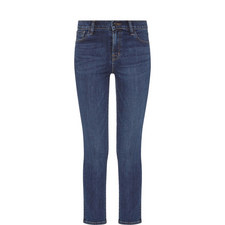 Ruby High-Rise Cropped Jeans