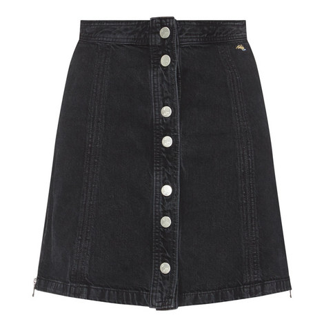 Nashville Denim Skirt, ${color}