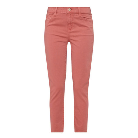 Ruby High-Rise Cropped Jeans, ${color}