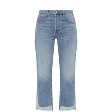 Wynne Cropped Straight Fit Jeans