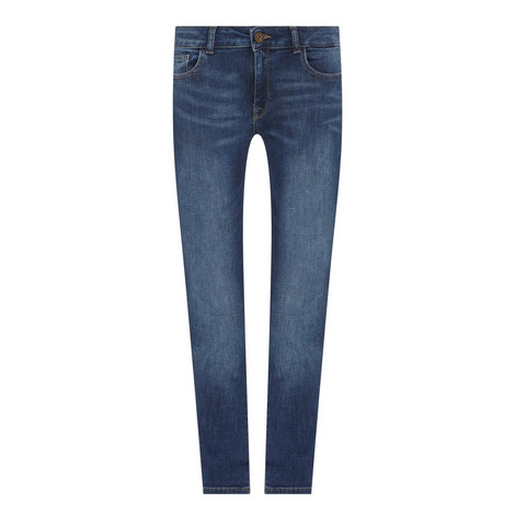 Mara Straight Fit Jeans, ${color}