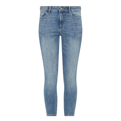 Farrow Cordell Cropped Skinny Jeans, ${color}