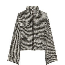Striped Wool Jacket