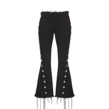 Studded Flared Jeans