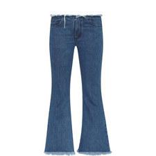 Flare Capri Jeans