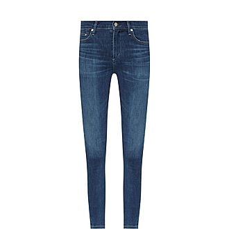 Rocket Crop High Rise Skinny Jeans
