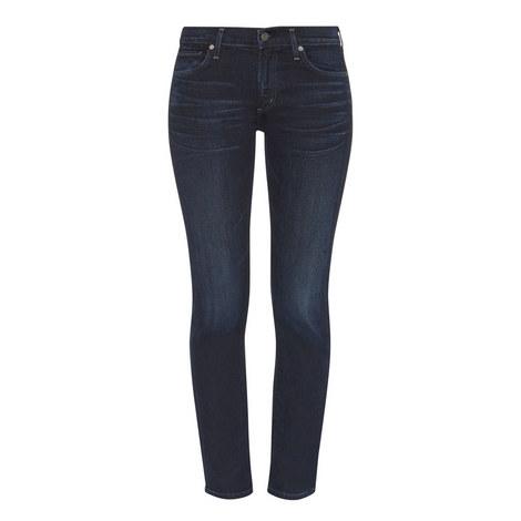 Agnes Slim Straight Jeans, ${color}