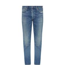 Liya Cropped High-Rise Jeans