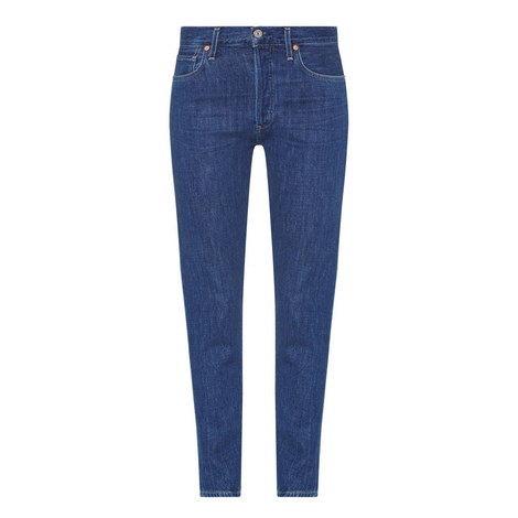 Liya High-Rise Jeans, ${color}