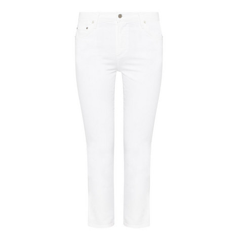 Cara High-Rise Cigarette Jeans, ${color}