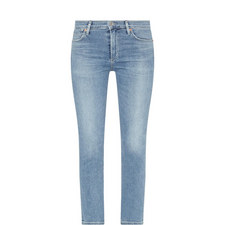 Cara High-Rise Cigarette Jeans