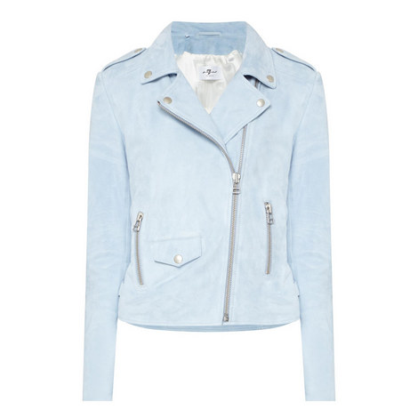 Perfecto Suede Jacket, ${color}