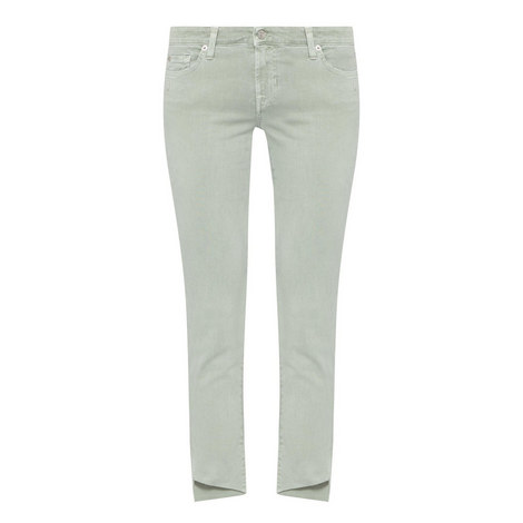 Pyper Cropped Slim Illusion Jeans, ${color}